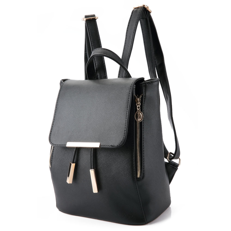 Women Backpack High Quality PU Leather Mochila Escolar School Bags For Teenagers Girls Top handle Backpacks Fashion Lady Bagpack