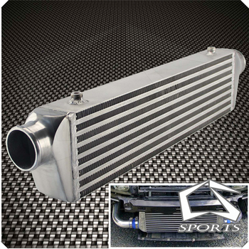 "Universal Bar&Plate Front Mount Intercooler 550*140*64 FMIC 2.5"" In/Outlet"