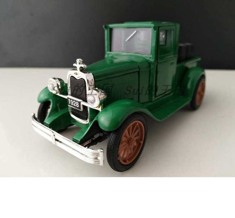 1:32 Advanced Alloy Model Car,high Simulation 1928 Classic Oil Bucket Truck,metal Diecasts Toy,collection Model,free Shipping