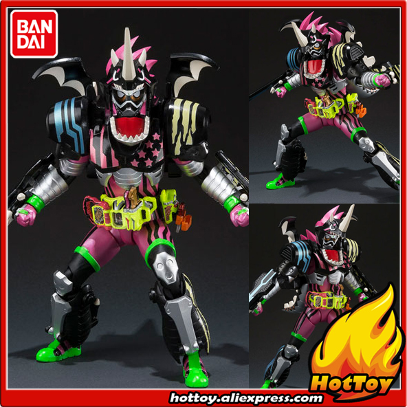 100% Original BANDAI Tamashii Nations S.H.Figuarts (SHF) Action Figure - Kamen Rider Ex-Aid Hunter Action Gamer Level5
