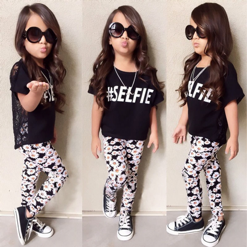 T Toddler Girl Outfits Fashionable