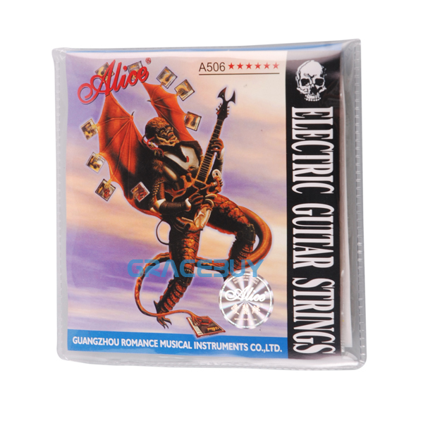 Wholesale 20 Set Alice Electric Guitar Strings A506 XL Super Light 008 Inch Thickness Free Shipping