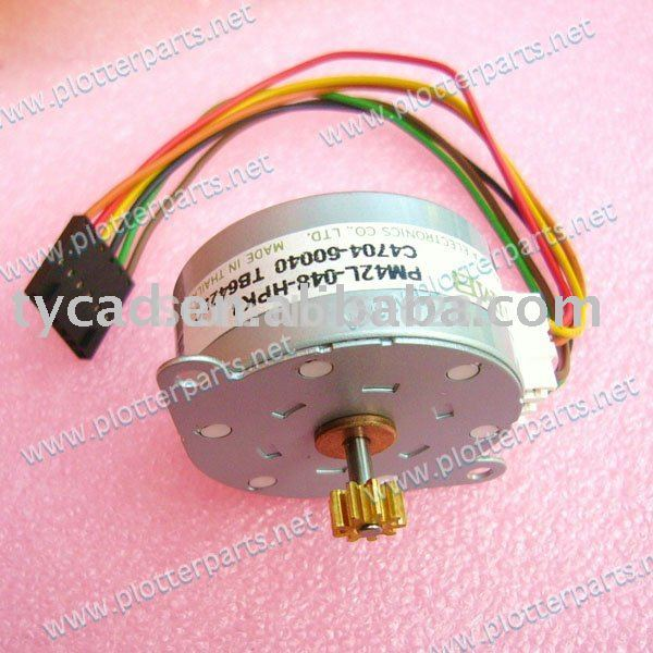 C3195-60009 Bail stepper motor for HP DesignJet 700 750C 755CM plotter parts c4704 40059 pinch arm media lever for hp designjet 2000cp 2500cp 2800cp 3000cp 3500cp 3800cp plotter parts