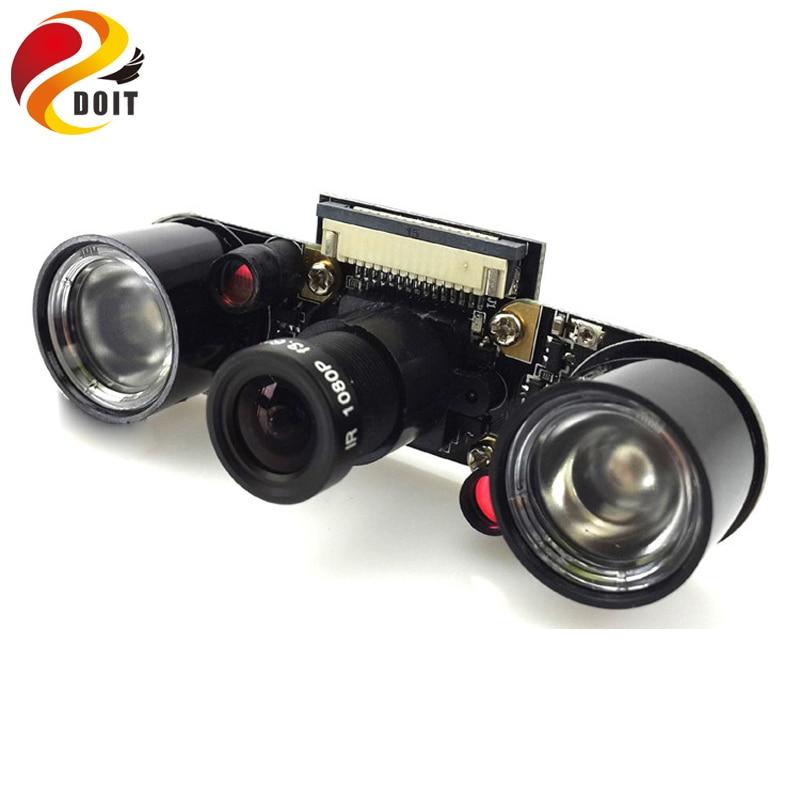 Raspberry Pi 2 Fisheye Len NoIR Camera 1080p Rpi Wide Angle Remote Control Monitor Rpi W ...