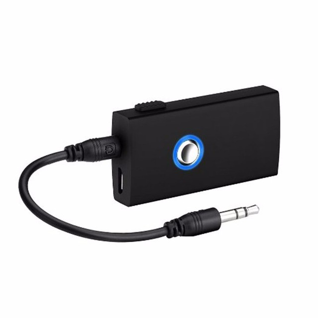 BT1-010 2-In-1 Wireless Bluetooth Speaker Audio Music Streaming Switchable Transmitter Receiver for Speakers TV Car P20
