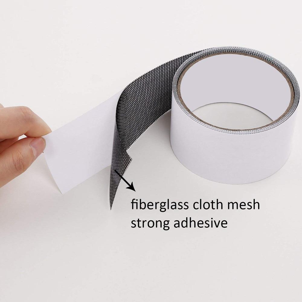 Repair tape fly screen door insect repellent repair tape waterproof mosquito net cover home window essential accessories M4 2