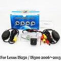 Для Lexus IS250 IS300 250 300 2006 ~ 2013/RCA Кабель aux или Беспроводной Автостоянка Камера/HD CCD Ночного Видения Камеры Заднего Вида