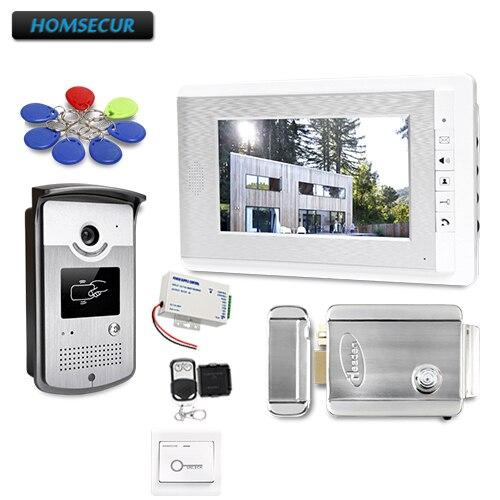 7 видео домофон Системы с режим отключения звука для дома безопасности для дома/без каблука