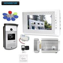 7 Video Da Porta Sistema Intercom com Modo Mute para Segurança Em Casa para Casa/Apartamento