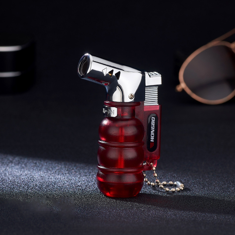 Image 5 - NEW Compact Butane Jet Lighter Torch Turbo Pipe Lighter Mini Spray Gun Cigar Lighter Windproof 1300 C No Gas-in Matches from Home & Garden