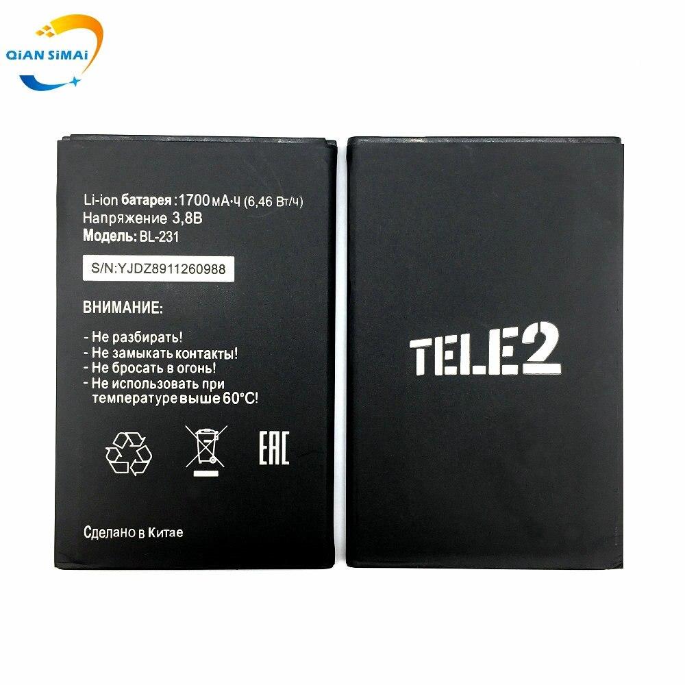 BL 231 Mobile-Phone Midi Battery For 1PCS High-Quality Qian Tele Not-Fits BL-231 New