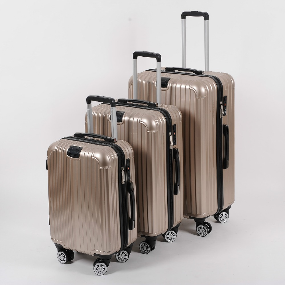 20/24/28 inch new multicolor universal wheel rolling suitcase fashion PC zipper combination lock luggage suitcase 108
