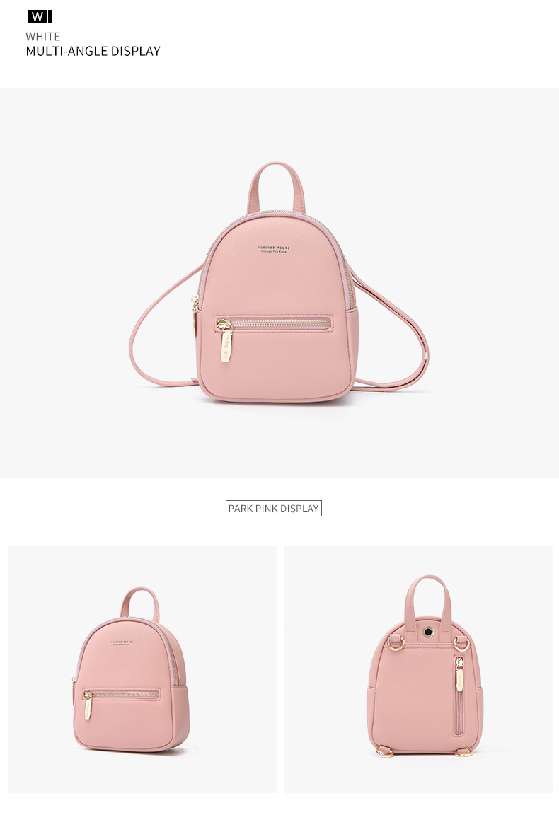 HTB1sWpNKeGSBuNjSspbq6AiipXab WEICHEN New Designer Fashion Women Backpack Mini Soft Touch Multi-Function Small Backpack Female Ladies Shoulder Bag Girl Purse