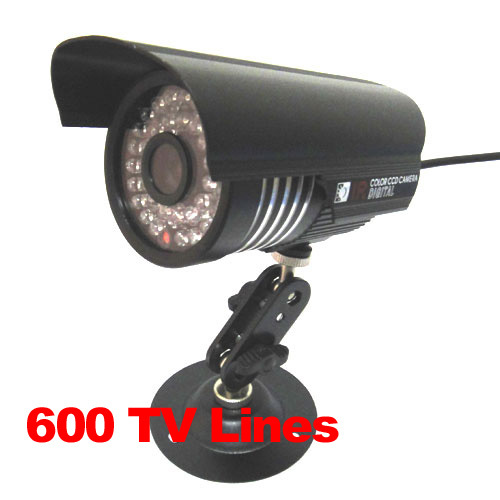 1/3 600TVL SONY CCD IR Color CCTV Outdoor Weatherproof Security Camera 36LEDs Night Vision 1 3 540tvl sony ccd outdoor weatherproof ir color dome cctv camera security system