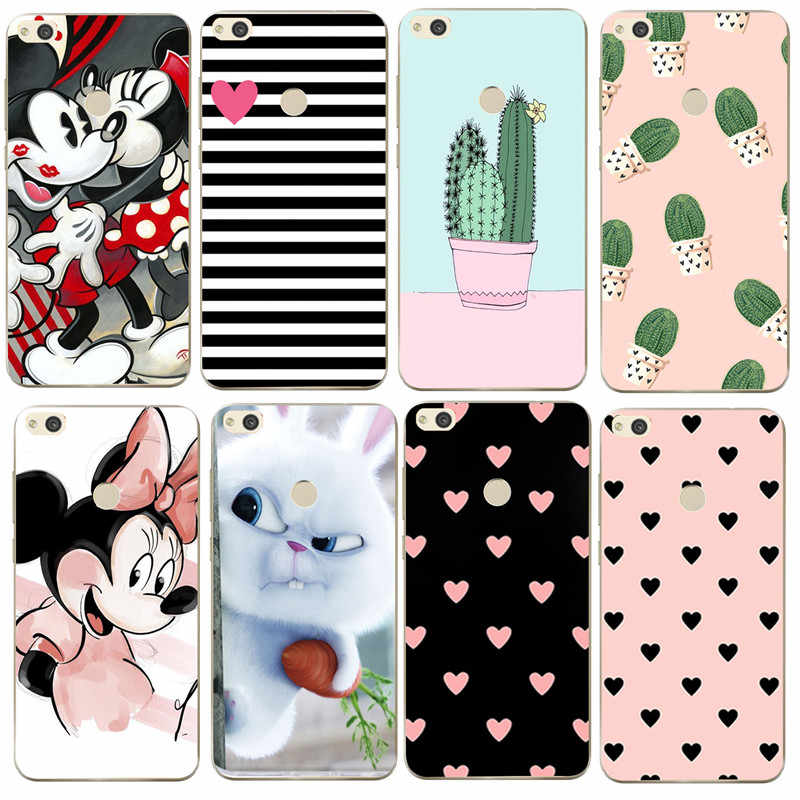 For Fundas Huawei P Smart Case Soft Silicone Cover For Huawei p9 lite mini p8 lite 2017 mate 10 p10 p20 Honor 9 lite Case Capas