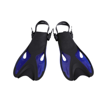 TOP!-Swimming Fins Adult Snorkeling Foot Flippers Kids Diving Beginner Swimming Equipment Portable & Fl