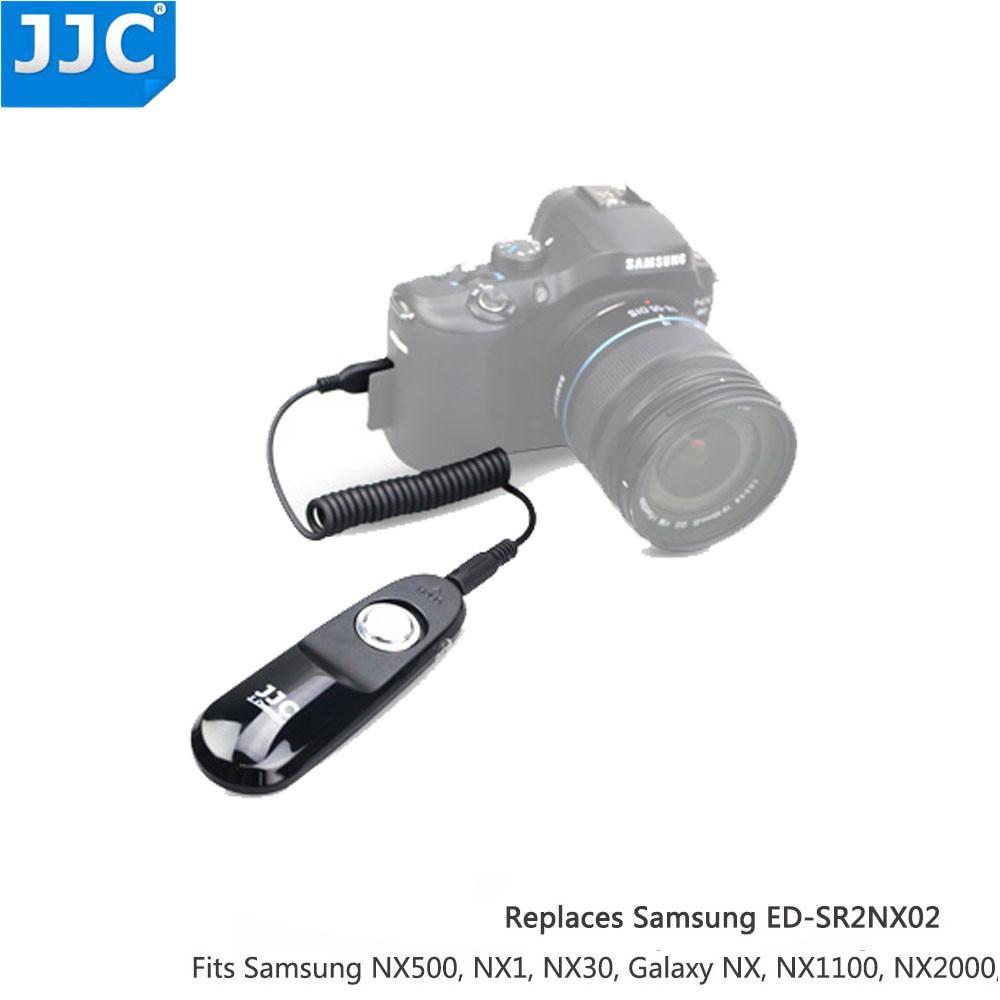 JJC S-NX Disparador remoto para Samsung NX500 NX30 Galaxy NX1 MINI NX1100 NX2000 NX200 EK-GN120 NX1000 NX210 como SR2NX02