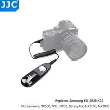 JJC S NX Remote Shutter Release for Samsung NX500 NX30 Galaxy NX1 MINI NX1100 NX2000 NX200 EK GN120 NX1000 NX210 AS SR2NX02