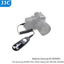 JJC S NX מרחוק תריס שחרור עבור Samsung NX500 NX30 Galaxy NX1 מיני NX1100 NX2000 NX200 EK GN120 NX1000 NX210 כמו SR2NX02
