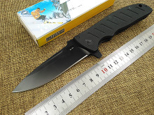 New tactical folding knife camping hunting survival pocket gift knife 8cr13mov blade G10 handle outdoor utility hand tools