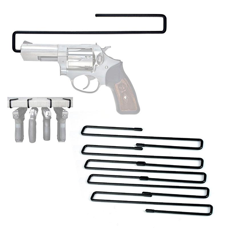 5pcs Hunting Accessories Gun Safe Pistol Storage Handgun Hangers Solution Accessories Easy Use