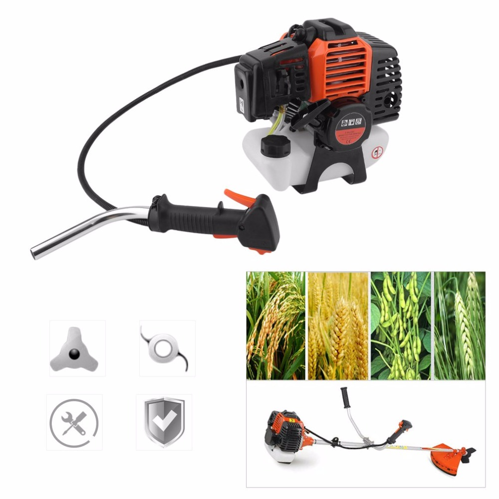Heavy Duty Petrol Strimmer Grass Bush Cutter Whipper Sniper With Blades For Trimming Strimming Gardener Motor Garden Tools 46 heavy duty gardener s corner set of 5