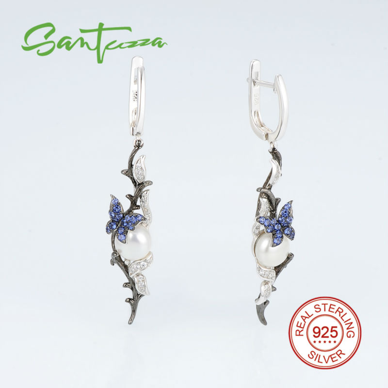 E307634BNFZSV925-SV1-Silver Earrings