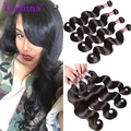 Peruvian Virgin Hair Body Wave 4 Bundles Human Hair Bundles Peruvian Body Wave 7A Grade Virgin Unprocessed Human Hair Weave