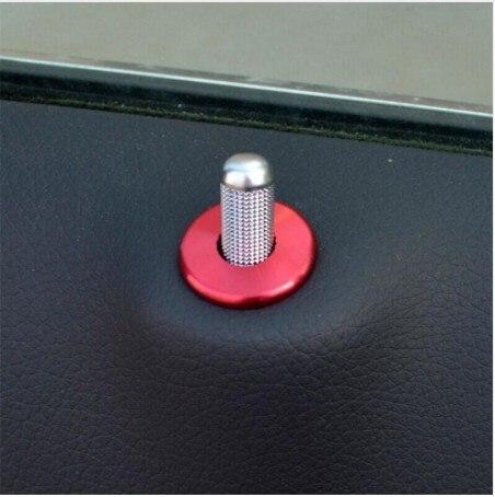 4pcsCar door pin decoration covers font b Interior b font Bolt circle trim sequins decals for