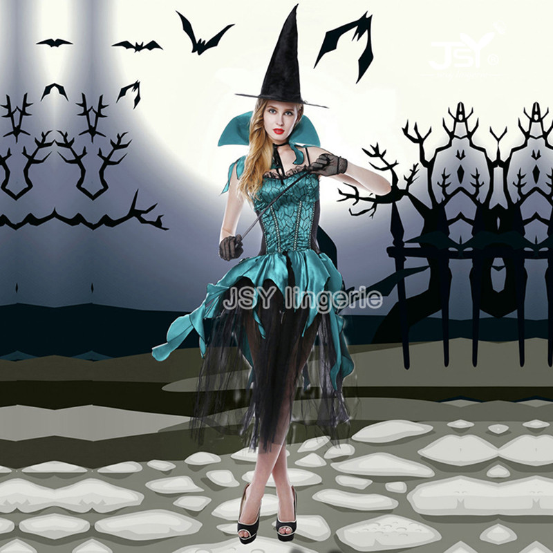 все цены на 6025 Sexy Halloween Witch Cosplay Costumes Sexy Devil Apparel Women Erotic Witch Lingerie Sets