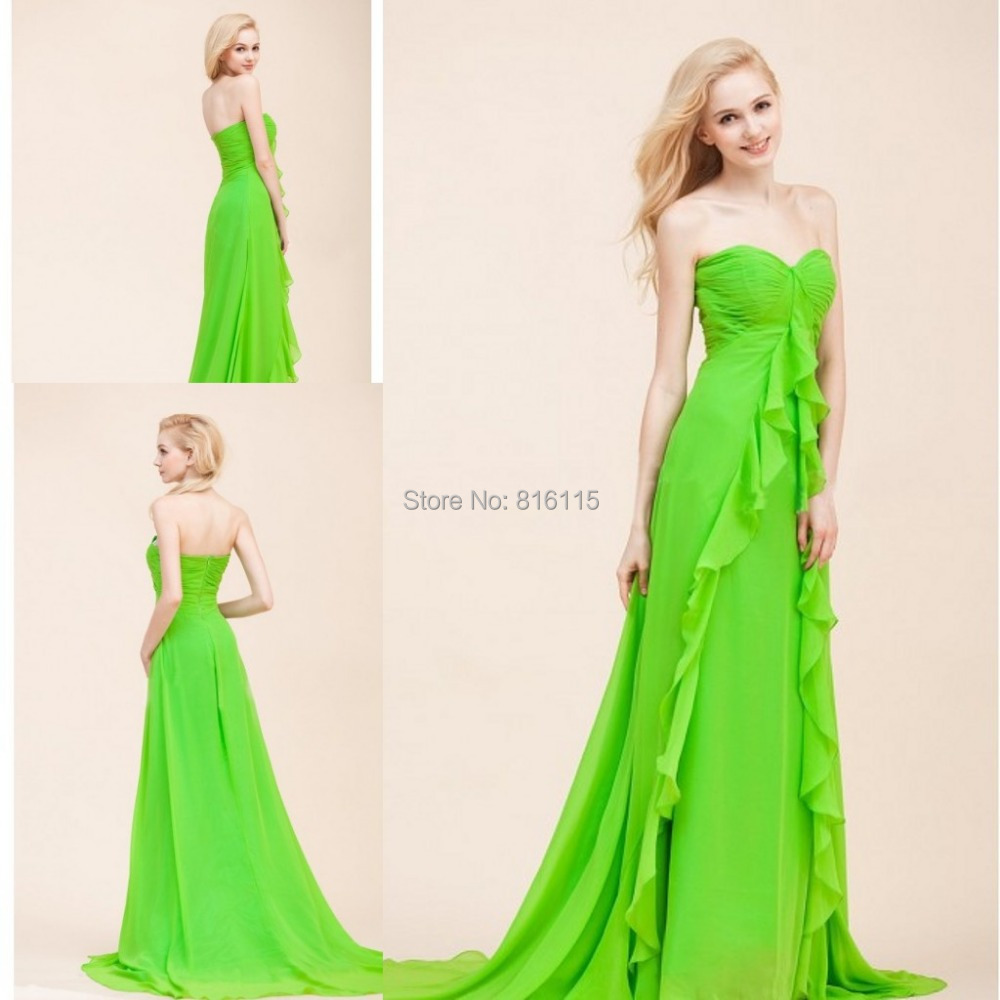 Online Get Cheap Lime Green Bridesmaid Dress -Aliexpress.com ...