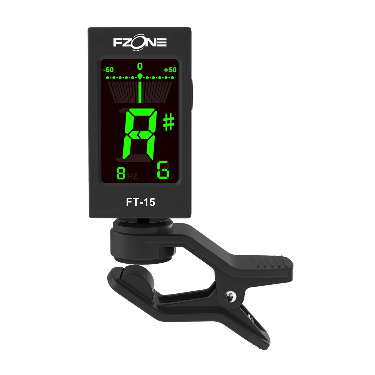 Clip On Guitar Tuner with Lighting Change High Sensitivity Tuning Chromatic Guitar Bass Violin Ukulele lt 33 electronic piezo clip on chromatic tuner guitar bass ukulele violin chromatic tuner for musical instrument accessories