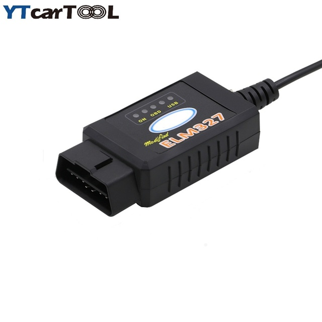 2017 Newest For Ford ELM327 ELM 327 USB FTDI chip with switch for ...