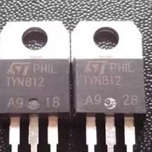TYN812 TO220 контрольный тиристорный 12A 800V TO-220 и 10 шт./лот