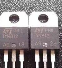 Tiristor TYN812 TO220, 12a, 800V a 220, nuevo y original, 10 unidades/lote