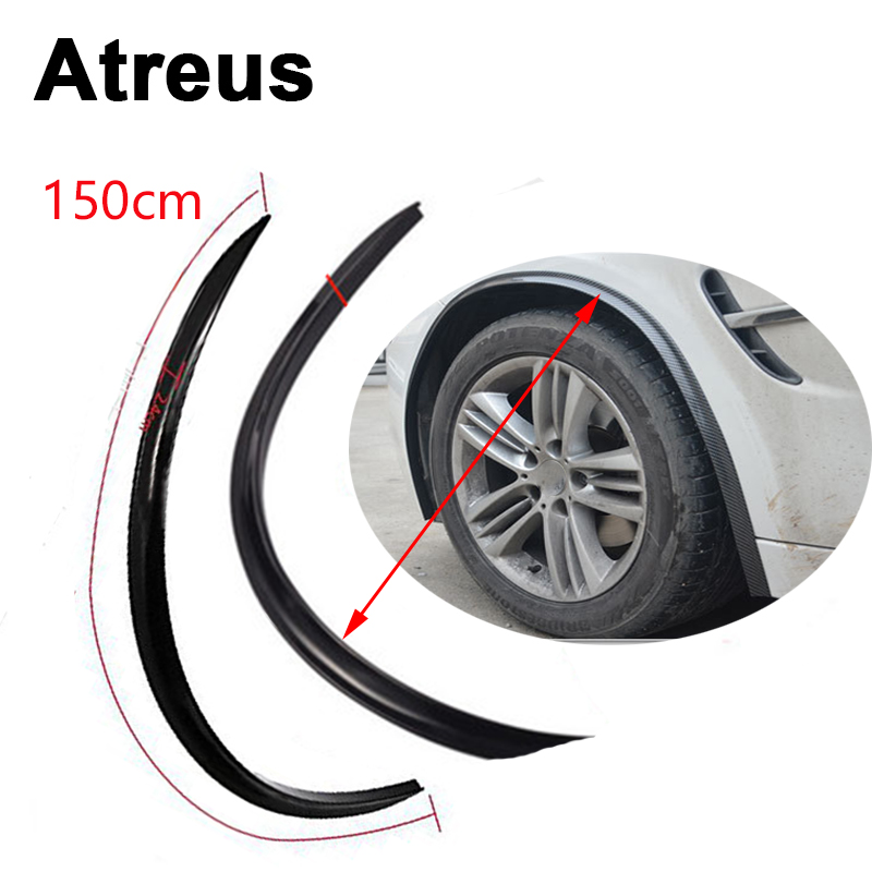 Atreus 1pc car fender protect wheel tire edge eyebrow for Mercedes benz wheel and tire protection