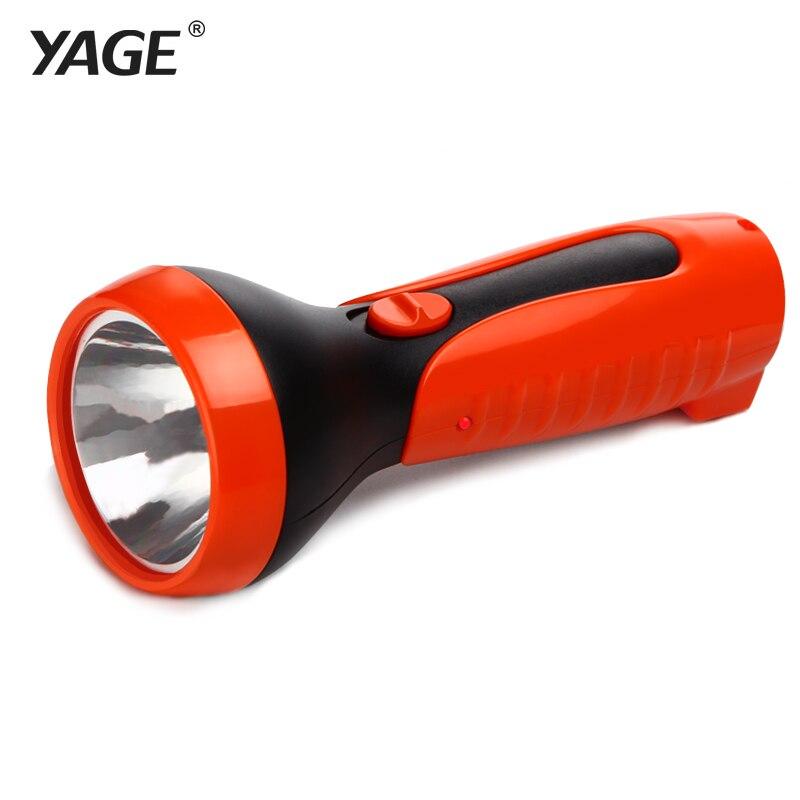 YAGE-3808 Flashlight Rechargable Torch 2-Mode LED Literna Laterna 400mAh Battery Inside Lampe Torche free shipping
