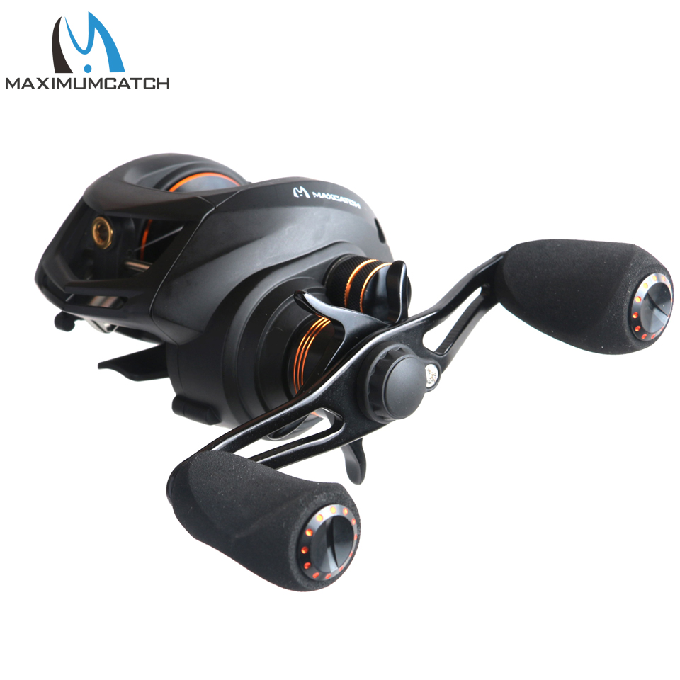 Maximumcatch Gear Ratio 6.3:1, 11+1BB Bait Casting Fishing Reel Left/Right Hand Fishing Reel Bait Casting Reel