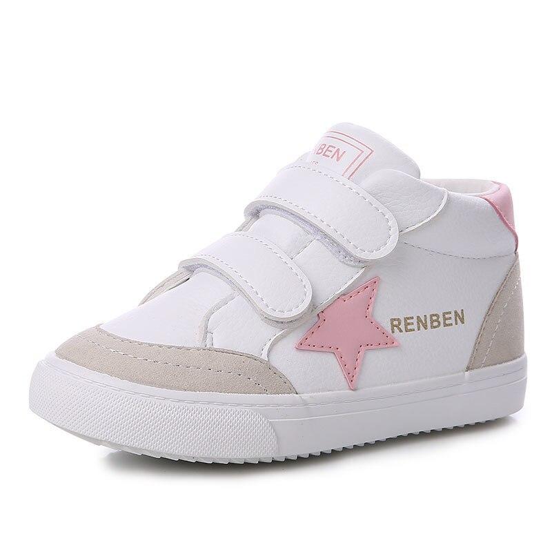 Winter Shoes Boys Children Cotton-padded Shoes Warm 2017 New Fashion Kids Shoes Plus Velvet Winter Girl Snow Boots
