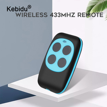 Kebidu Duplizierer Fernbedienung 433mhz Kunststoff Kopie Fernbedienung Lernen Typ 4 Tasten Wireless Remote Für Tore