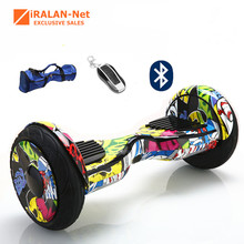 Hoverboard 10inch 2 Wheel self Balance scooter Standing Smart two wheel Skateboard drift balancing scooter electric Brand IRALAN