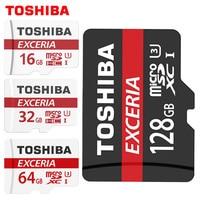 TOSHIBA 100 Original Memory Card 128GB 64GB 32GB UHS 3 Max Read Speed 90M S 16GB