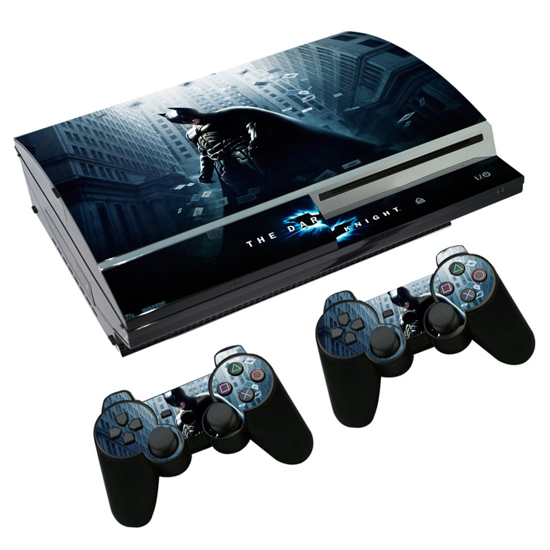 Free drop shippingWaterproof vinyl decal for ps3 fat vinyl skin sticker wrap for ps3 fat full body protactive TN-3-2086