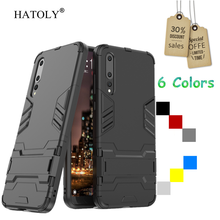 HATOLY Cover Huawei P20 Pro Case Rubber Robot Armor Shell Slim Hard Back Phone Case for Huawei P20 Pro Cover for Huawei P20 Pro
