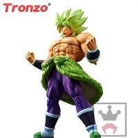 Tronzo Original Banpresto CRANEKING Action Figure Dragon Ball Super Broly Full Power PVC Figure Model SSJ Broli Figurine
