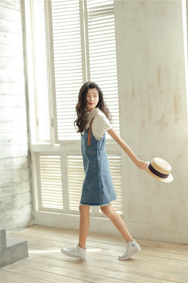 3145bcbbc1c Summer Dress 2018 Korean Style Vintage Ripped Tassel V Neck ...