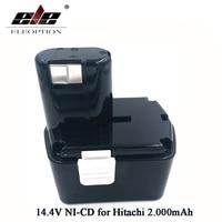 Şarj edilebilir Hitachi 14.4 V Pil 2000 mAh NI-CD EB1414S EB14B EB1412S 324367 EB14S DS14DL DV14DL CJ14DL DS14DVF3
