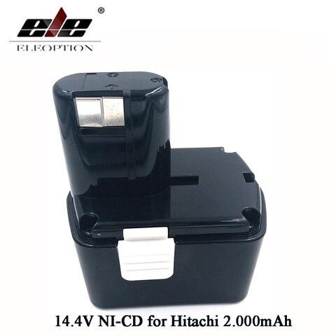 Recarregável para Hitachi Bateria Ni-cd Eb1414s Eb14b Eb1412s 324367 Eb14s Ds14dl Dv14dl Cj14dl Ds14dvf3 14.4 v 2000 Mah