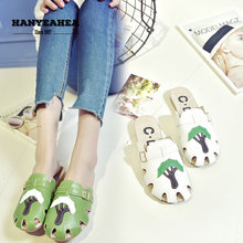Hollow Womens Summer Shoes Fashion Soft Flat Slippers Casual Fashionable Solid Color