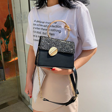 Female Crossbody Tote Bag Women 2019 Quality PU Leather Luxury Handbags Designer Sac A Main Ladies Sequin Shoulder Messenger Bag